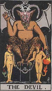 220px-RWS_Tarot_15_Devil