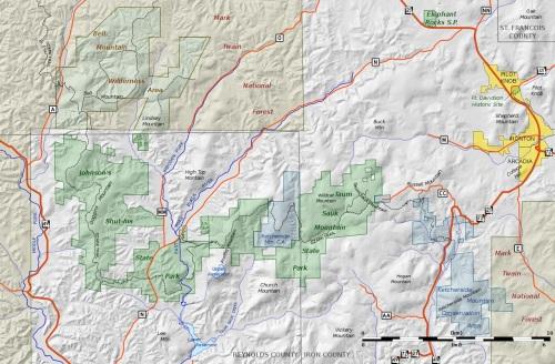 Missouri_-_Taum_Sauk-J_Shutins_area_shaded_relief